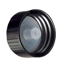 Black phenolic Cap 22 mm with LDPE liner - 1 Unit @ $0.30 Per Cap